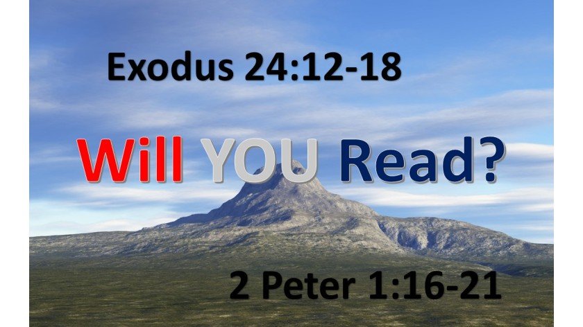 WILL YOU READ 8.26.2017
