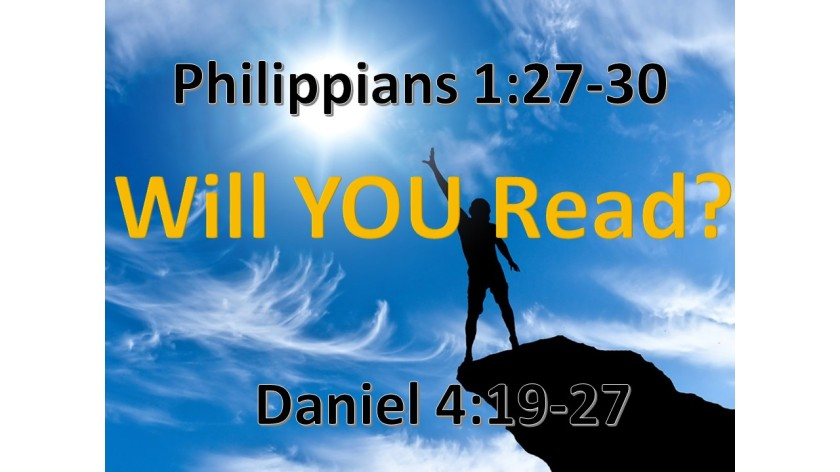 WILL YOU READ 9.26.2017