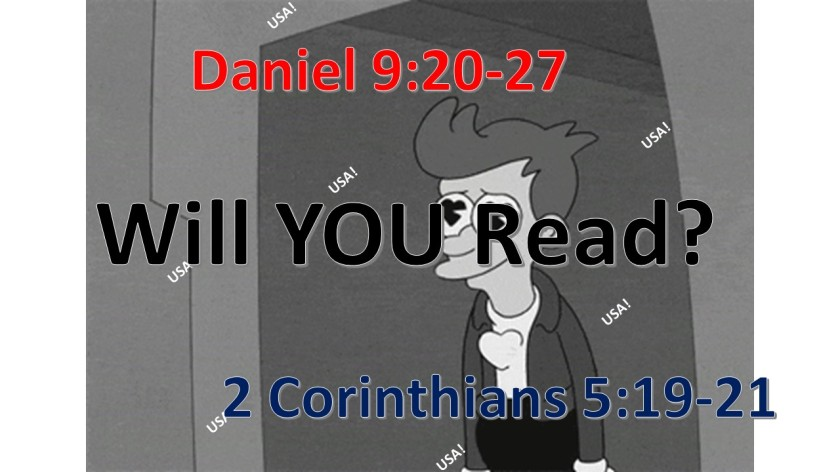 WILL YOU READ 9.29.2017
