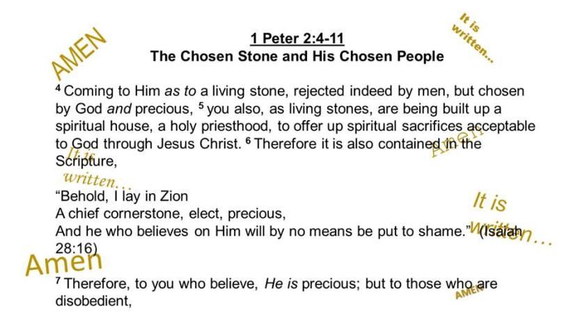 1 Peter 2.4.7