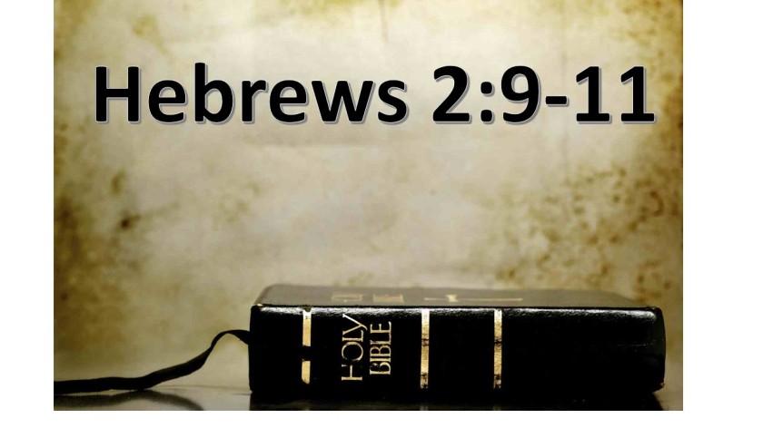 Hebres 2.9.11