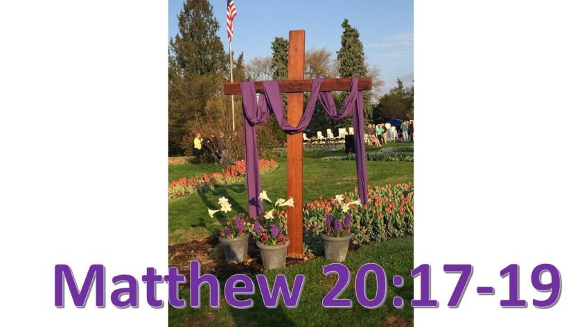 Matthew 20