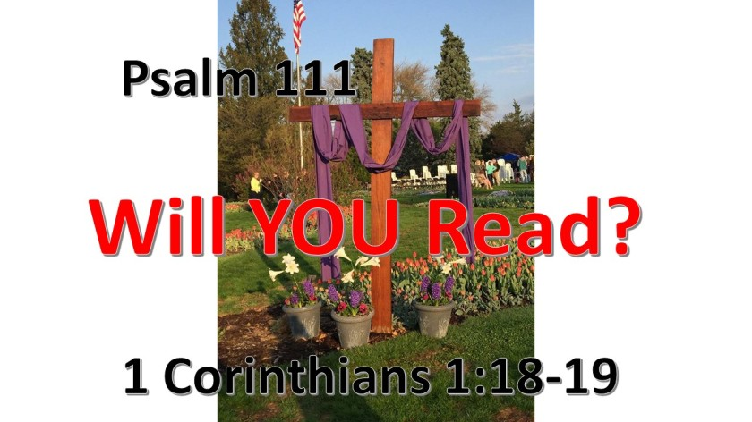 WILL YOU READ 10.17.2017
