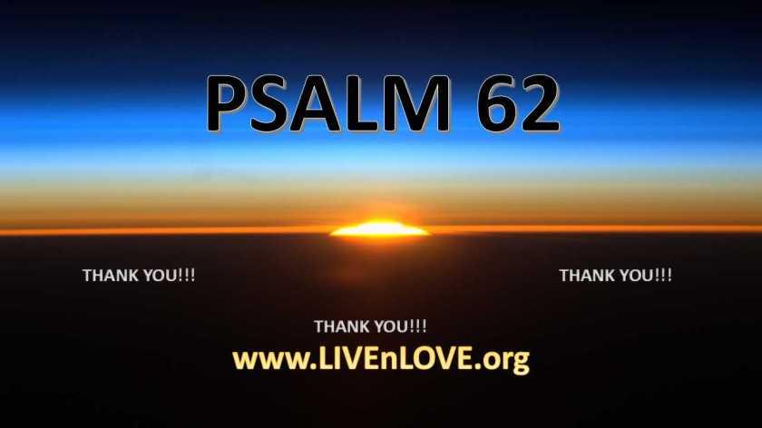 PSALM 62a