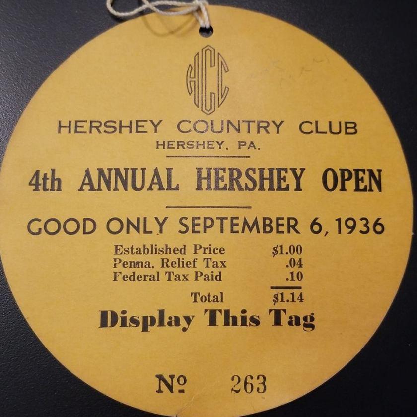 1936 Hershey Open