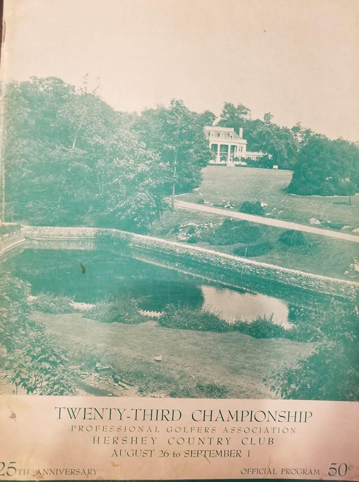 1940 PGA Championship brochure