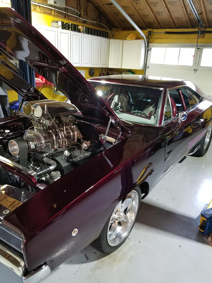 1968 charger motor picture