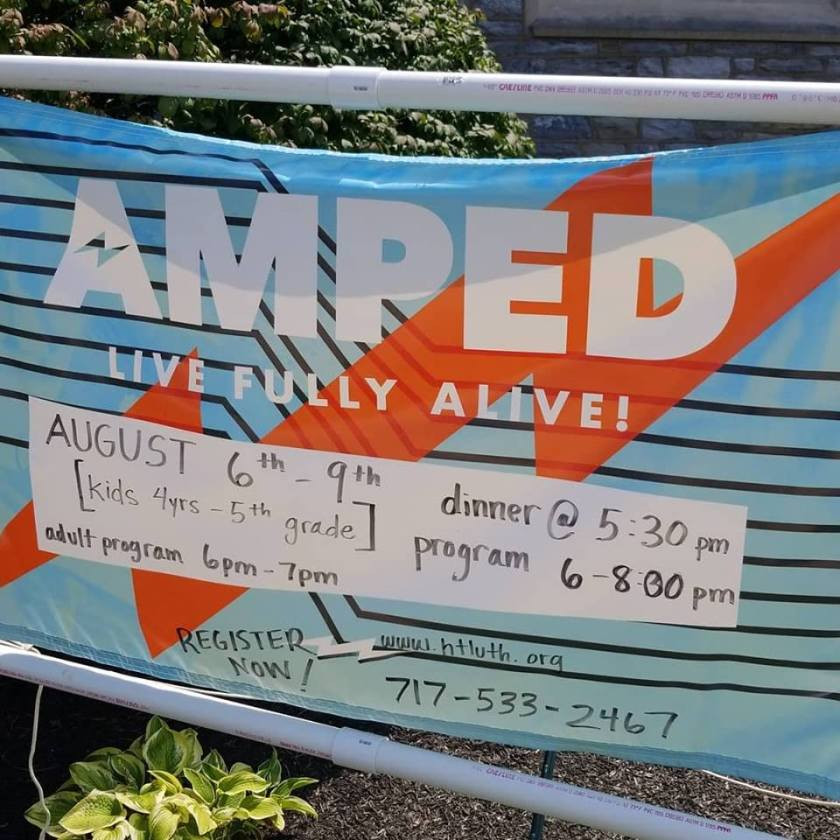 amped sign